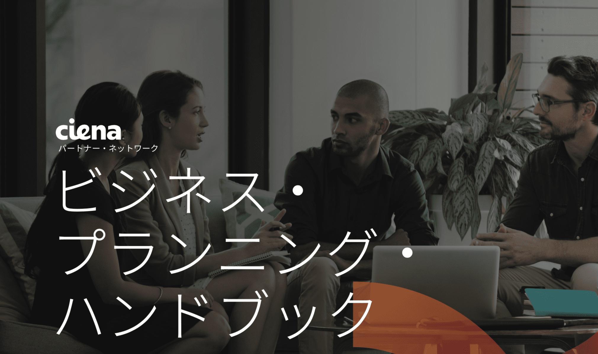 Ciena Japanese brochure