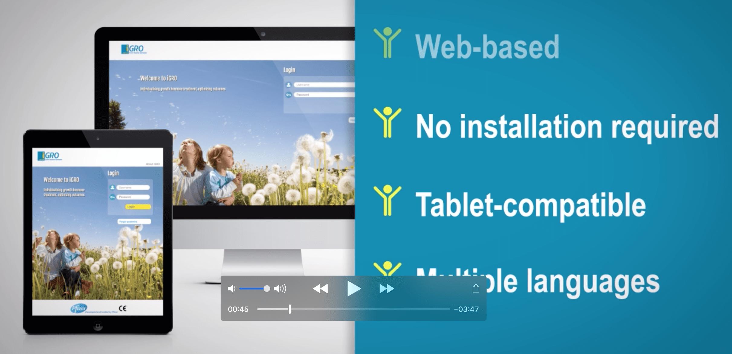 iGro video screenshot